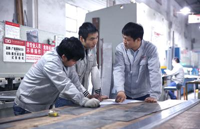 Workshop scene