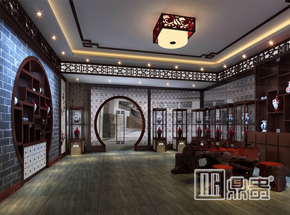 Hangzhou Museum - a wonderful presentation from the DG museum display showcase factory