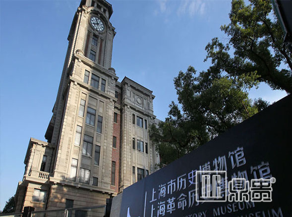 The museum display case of DG master of display showcase has been formally put into use in the History Museum of Shanghai