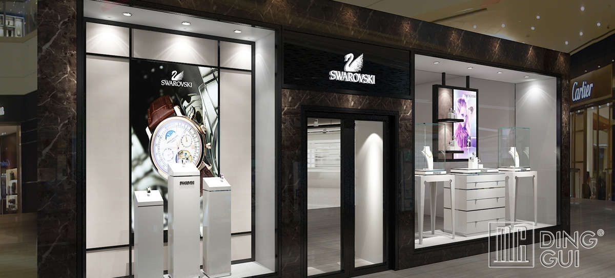High End Luxury Jewelry Store Display Design