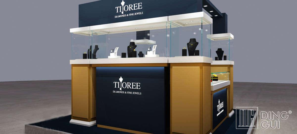 High End Luxury Jewelry Kiosk