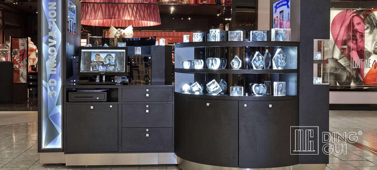 High End Jewelry Display Kiosk