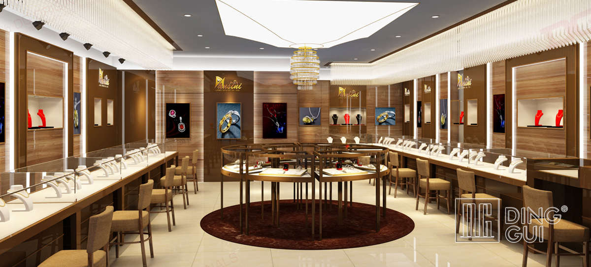 High End Luxury Jewelry Store Design
