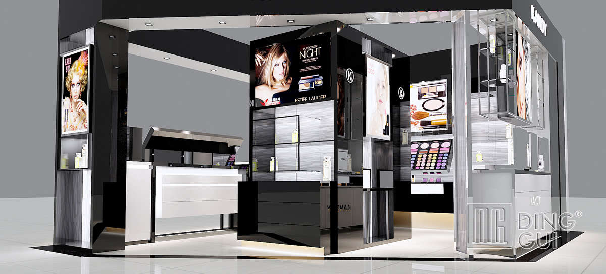 High End Cosmetic Kiosk Design