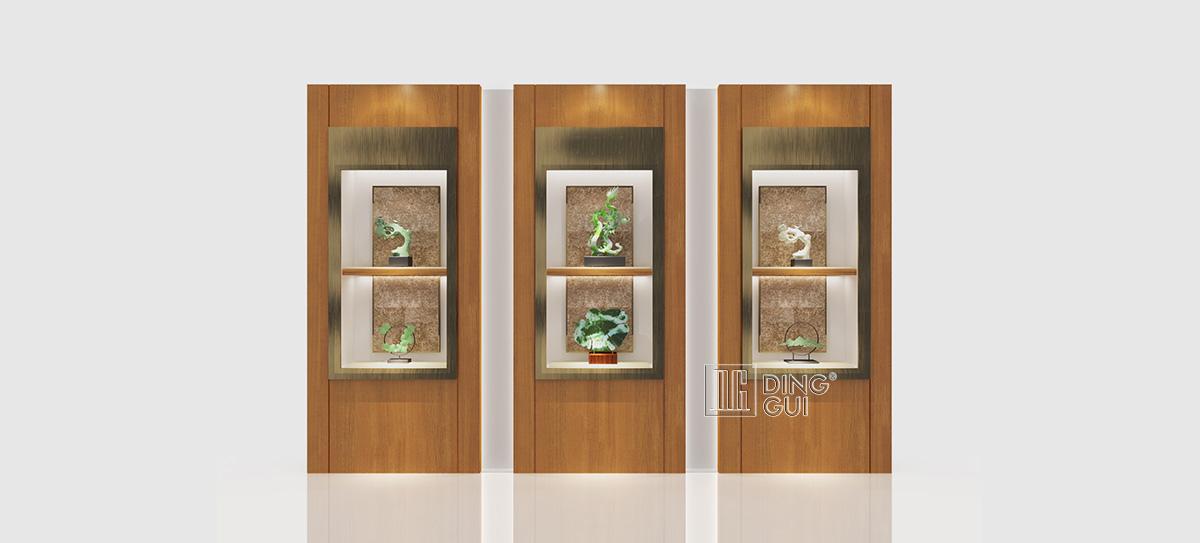 Creative Design Wall Jewelry Showcase