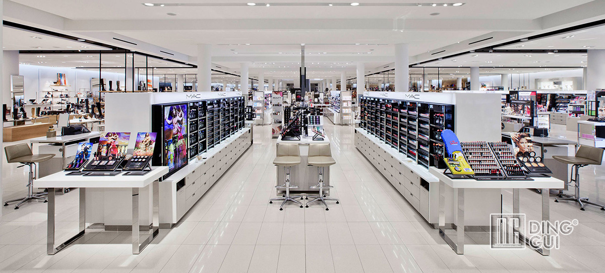 Luxury Cosmetic Store Display Showcase