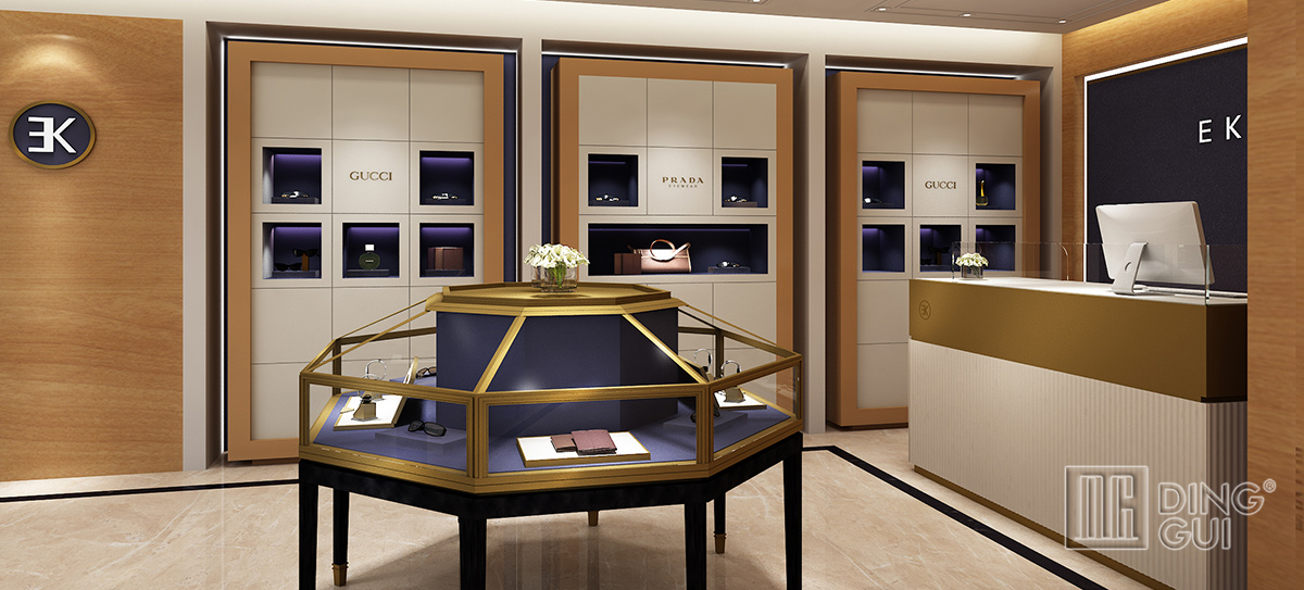 Luxury Optical Store Display Design