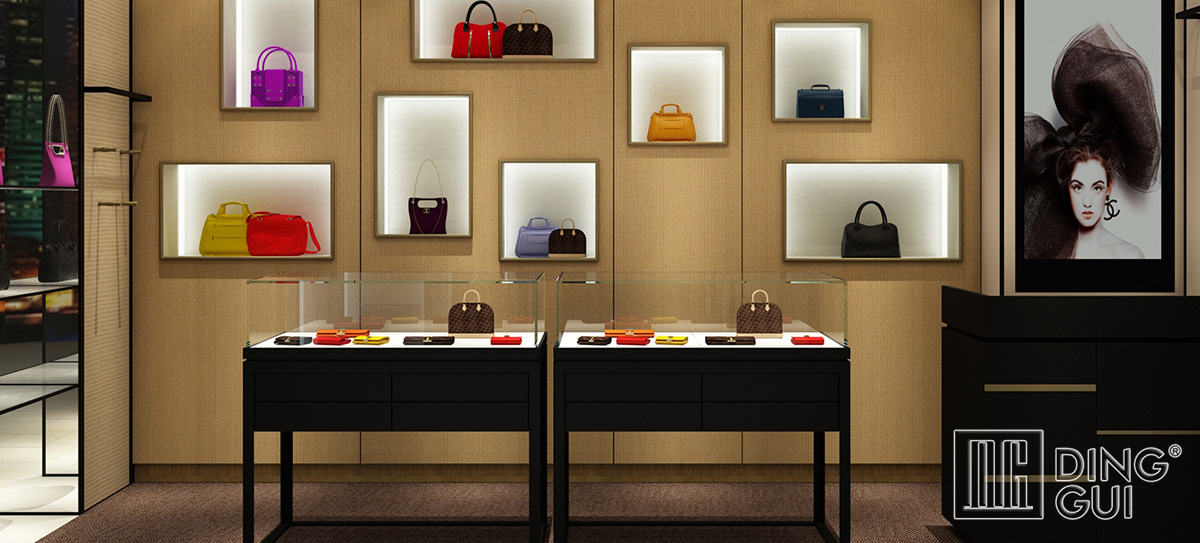 Luxury High End Jewelry Store Design