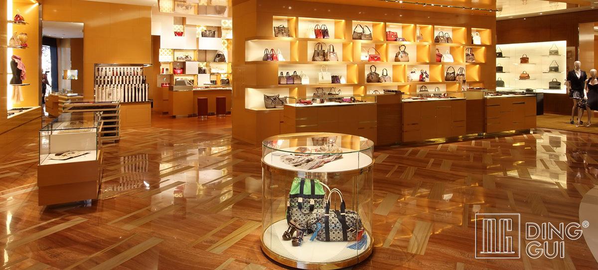 Luxury High End Jewelry Showroom Design