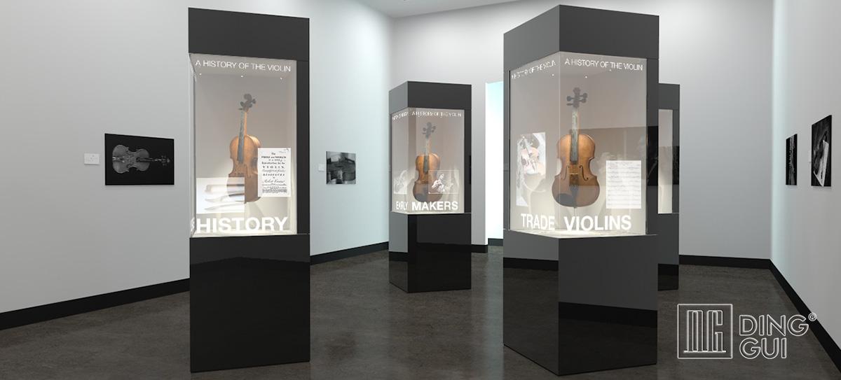 National Museum Showcase Design