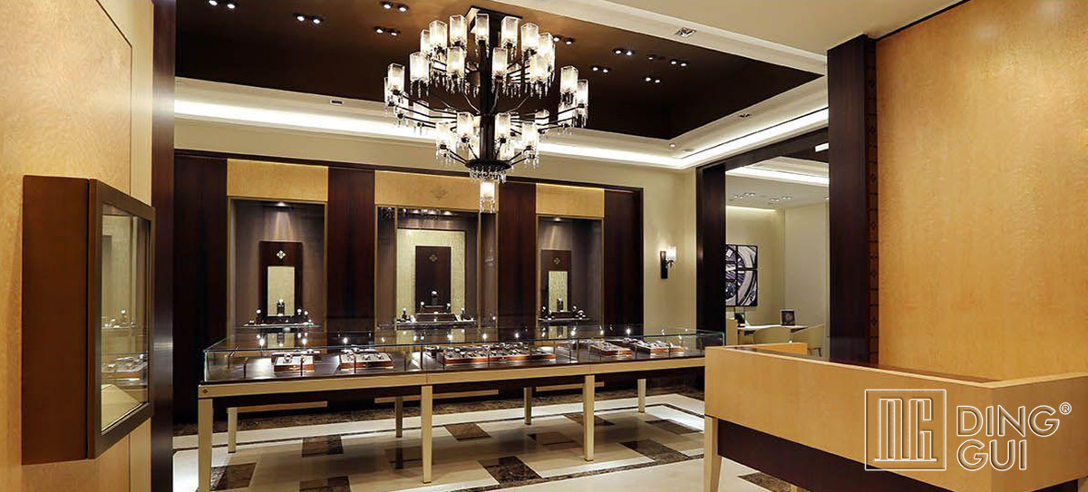 High End Luxury Watch Store Showcase